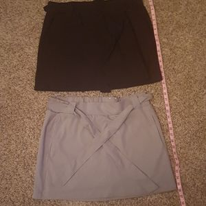 Bundle of 2 active shorts/skirts